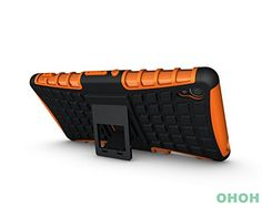 Buy Xperia Z3 Case,Sony Xperia Z3 Case,[Armor Defender]*NEW*TPU&PC Dual Layer Rugged[Shockproof] [Drop Resistant] Premium Protective Case Cover with Kickstand for Sony Xperia Z3 (Orange) NEW for 9.98 USD | Reusell