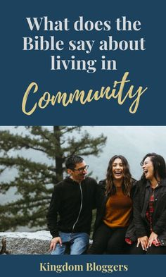 God didn't create us to live life alone. He created us to live together with others. Let's dive in and see exactly what DOES the Bible say about community. Christian Women, Christian Living, Christian Faith, Christian Devotions, Spiritual Reality, Spiritual Growth, Proverbs 31 Woman, Bible Encouragement, Bible Truth