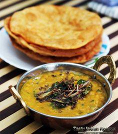Sindhi Dal Pakwan