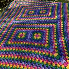 Five Ball Blanket – Crochet Along With Me
