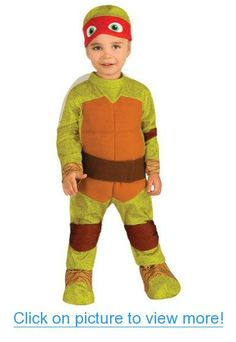 Baby-Toddler-Costume Tmnt Raphael Toddler Costume 2T-4T Halloween Costume
