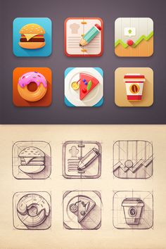Dribbble - Flat_icon_set_-_xxl.jpg by Mike | Creative Mints
