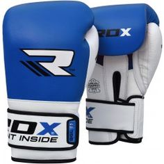 RDX Leather Gel Tech Training Pro Boxing Gloves