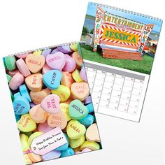 Personalised Girls Calendar  from Personalised Gifts Shop - ONLY £12.99