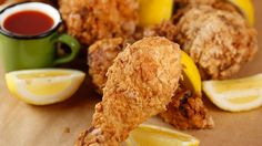 Sunny Anderson's Sweet Tea Brined Fried Chicken