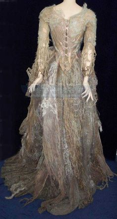 The Western Woods Crone: The costume worn by Miranda Richardson as the old crone in the Tim Burton gothic classic Sleepy Hollow.