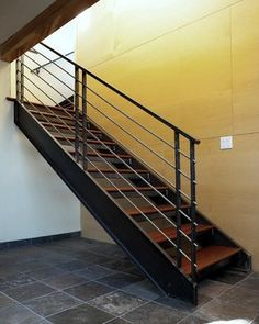 Steel Staircase Design, Pictures, Remodel, Decor and Ideas