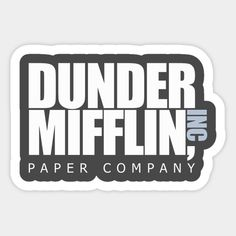 Dunder Mifflin Paper Company Bubble Stickers, Meme Stickers, Phone Stickers, Diy Stickers, Sticker Ideas, The Office Stickers, Call My Dad, Dunder Mifflin, Paper Companies