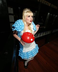 My balloon Alice in Wonderland!