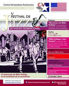 Cresta Metálica Producciones » V Festival de Jazz de Nuevas Generaciones en el CVA de Las Mercedes