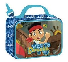 Disney: Jake and the Neverland Pirates Backpack and Lunchbox