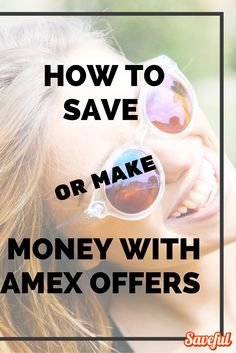It can pay to learn about the Amex Offers program. These are special deals that you can add to your card, and you'll receive money back or special extras after you make your purchase. The best part is there's no coupon to worry about...