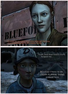 Bonnie blaming Clem for Luke's dead  By: adeadwalking. Ok, I covered Luke, which technically constitutes as helping him. So this part greatly pissed me off