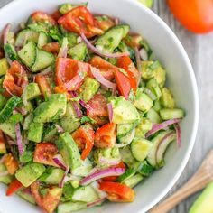 """""""Sometimes all I want is a salad, this recipe is quick, easy, and has tons of flavor Tag someone who loves salads · · · · · · · · · · · · · · · · · · ·…"""""""