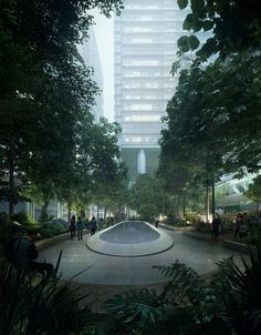 Image 1 of 8 from gallery of Public Park Promotes Native Biodiversity in Hong Kong. © Gustafson Porter + Bowman