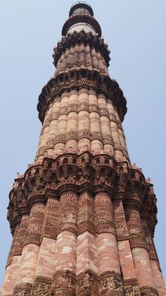 "See 1268 photos from 5302 visitors about architecture, monuments, and minaret in india. ""Qutub Minar, is the tallest minaret in India. Mughal Architecture, Amazing Architecture, Architecture Details, New Delhi, Delhi India, Countries Of Asia, Namaste India, Amazing India, Building An Empire"