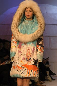 sorry folks, but i just can't stop loving this eskimo coat.