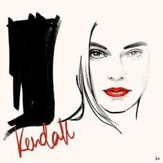Kendall Jenner x Estee Lauder  @esteelauder @kendalljenner