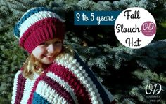 Oombawka Design Free Pattern | Poncho and Hat Combo 3 to 5 years