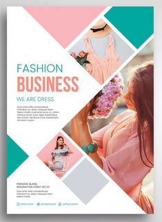 Fashion Business Flyer Template PSD - - - The Effective Pictures We Offer You About Graphic Design collage A quality picture can tell you many things. Flugblatt Design, Cover Design, Layout Design, Icon Design, Logo Design, Flyer Design Inspiration, Business Flyer Templates, Flyer Design Templates, Business Flyers