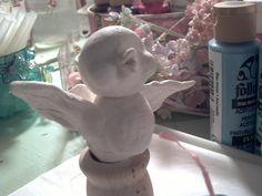 Pretty Is .: In the Studio . Making Paper Mache, Paper Mache Clay, Paper Glue, How To Make Paper, Just Amazing, Crow, Sculpting, Diy Crafts, Studio