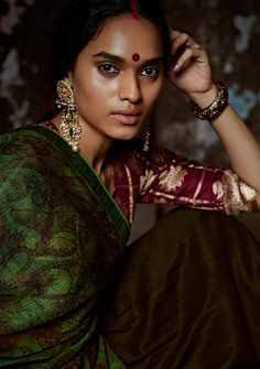 "Indian Fashion - ""The Fire Within"" 
