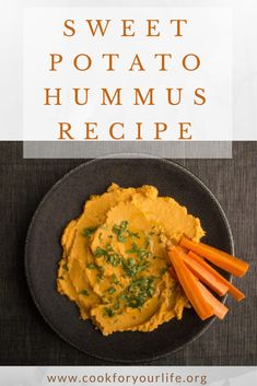 This #sweetpotato #hummus packs a punch with great vitamins and minerals from the sweet potato as well as protein and healthy fats from the #tahini and olive oil. #CFYL #cookforyourlife #healthyeats #healthyrecipes #cleaneats #hummusrecipes #sweetpotatohummus #glutenfree #vegetarian #vegan #cancerfighters #glutenfreerecipes #cancerblog #healthblog #nonprofit #nycnonprofit #healthy #hummusrecipes#dogood #blanddiet #veganrecipes #vegetarianrecipes #healthysnacks #healthydip