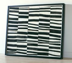 Ellsworth Kelly, Brushstrokes Cut into Twenty Squares and Arranged by Chance