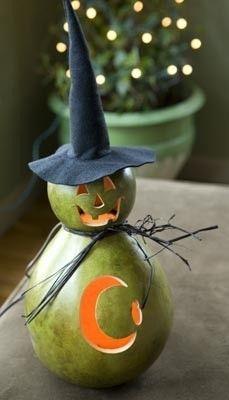 Gourd witch