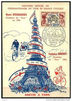 Souvenir officiel du Cinquantenaire du Tour de France cycliste