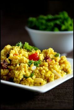Vegan Food. Non - Stop.: Curried Couscous Salad