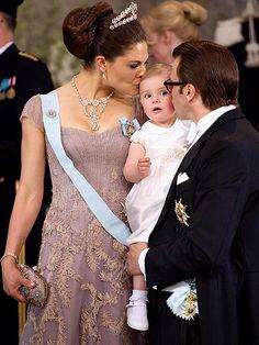 Crown Princess Victoria Prince Daniel and Princess Estelle