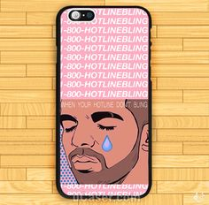 Drake When your HotLine Bling iPhone Cases Case