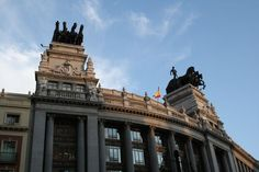 Beautiful architecture in Madrid, Spain: http://www.ytravelblog.com/things-to-do-in-madrid/ #travel