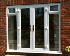 Excellent Windows - Offering UPVC French Window at Rs feet in Chennai, Tamil Nadu. Upvc French Doors, Antique French Doors, French Windows, French Doors Patio, Brick Wall Paneling, Exposed Brick Walls, Patio Door Blinds, Patio Doors, Upvc Door Handles