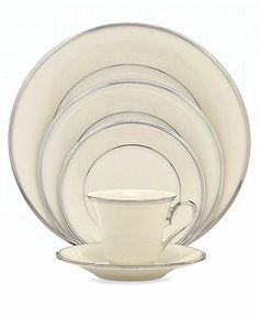 """Lenox \""""Solitaire\"""" Dinnerware Collection, I have full set for 12 with many serving pieces.   For sale...."""