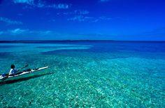 Sea Kayaking at Tobacco Caye, Belize