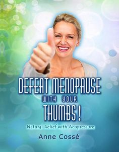 Defeat Menopause With Acupressure! Tons of easy acupressure exercises to relieve menopause symptoms: hot flushes, night sweats, irritability, anxiety, insomnia, unstable libido... It's on Amazon... Share the love with your mature Ladies friends!