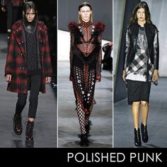The Top 6 Trends Of Fall 2015: NYFW Edition | The Zoe Report Photos: Alexander Wang, Proenza Schouler & 3.1 Phillip Lim became readily apparent that Polished punk is seriously hot for Fall 2015