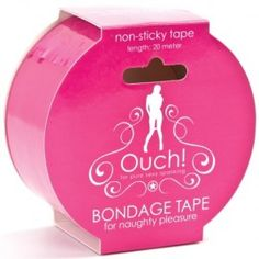 FITA OUCH! BONDAGE TAPE ROSA