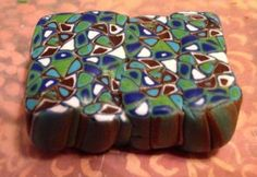 Extruded polymer clay design