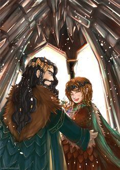 Bagginshield (Fem!Bilbo) :: A Royal Wedding by caylren on DeviantArt