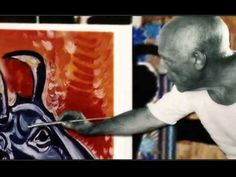 Picasso: art work and photos of the artist