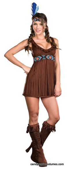 Dreamgirl Tribal Trouble Sexy Indian Costume - Candy Apple Costumes - Cowboys and Indians