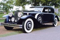 Brewster Rolls-Royce Phantom II Newmarket Sport Sedan 1929 #rollsroycevintagecars