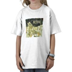 ancient rome tshirt £12.30  JMCKS DESIGNS ARE AVAILABLE ON MANY DIFFERENT APPAREL HIS & HERS YOUNG AND OLD, DIFFERENT STYLES & COLORS  ALL DESIGNS COLORS AVIALBLE HERE http://www.zazzle.co.uk/jmcksholidaytshirt/italy+gifts