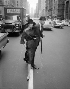 1950s, New York, via Flickr.