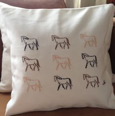 Personlize your own colour scheme  Horses trotting by LMDSimplyBe,