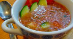 Gazpacho leves recept   APRÓSÉF.HU - receptek képekkel