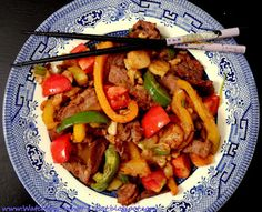 Pepper Steak ~ low carb, low fat, low cal ~ YES!